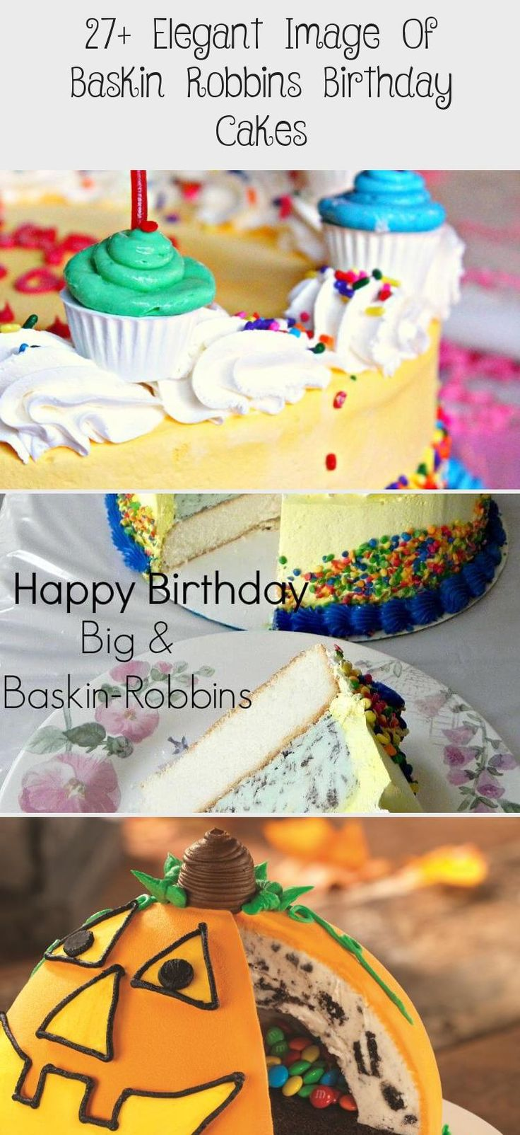 how much is a cake at baskin robbins