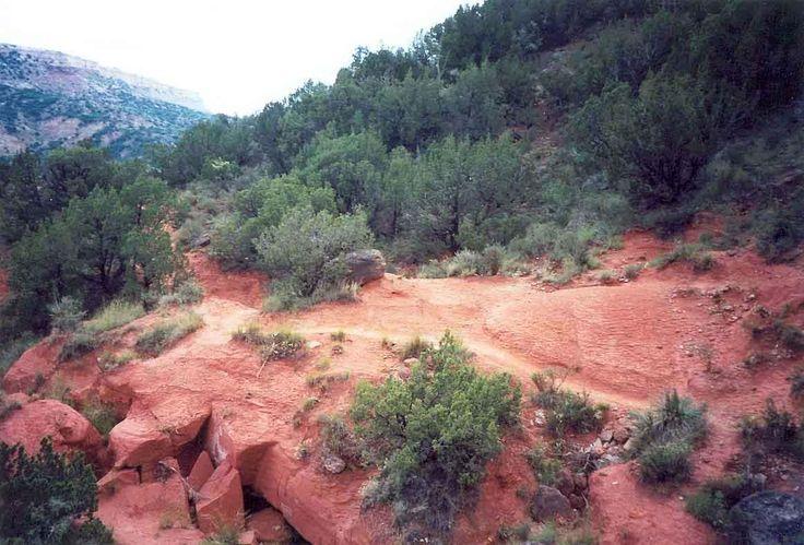 Palo Duro Canyon Mountain Bike Trail in Canyon, Texas || SINGLETRACKS.COM