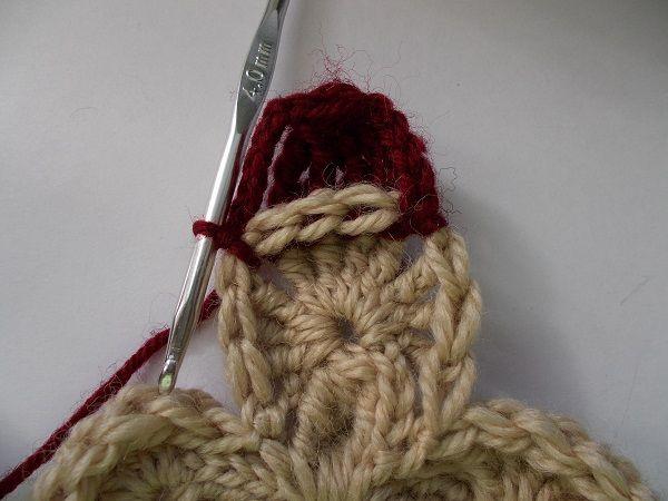 баварское вязание крючком описание