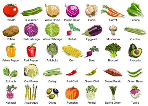 25+ best ideas about Fruits and vegetables names on Pinterest ...