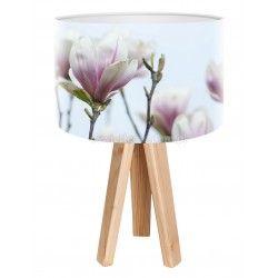Lampa stołowa mini-trójnóg Delikatna Magnolia