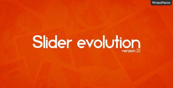 Slider Evolution for WordPress . Slider Evolution for WordPress
