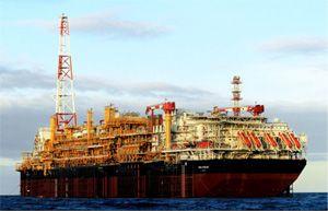 Plate forme pétrolière flottante