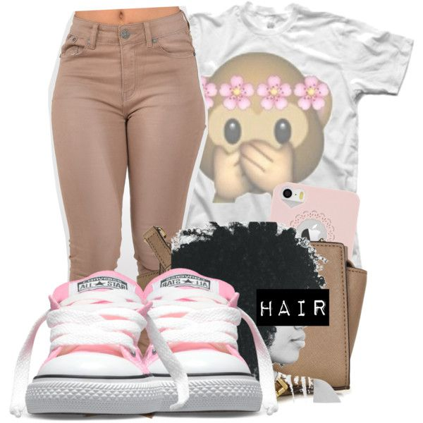 A fashion look from November 2014 featuring white t shirt, high waisted jeans and leather bags. Browse and shop related looks.