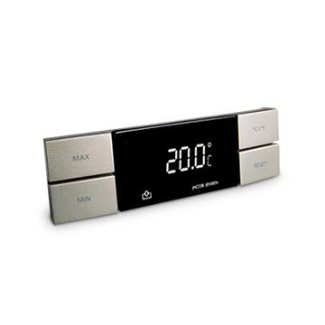 JACOB JENSEN/室内温度計 6195yen 温度を把握してエコに過ごせる室内温度計
