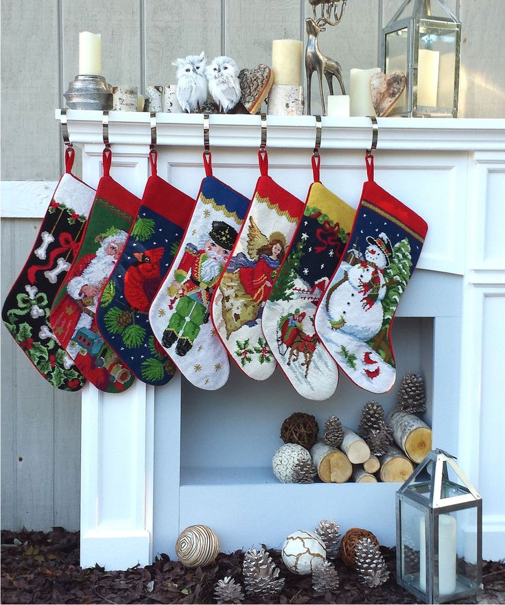 25+ Unique Personalized Needlepoint Christmas Stockings