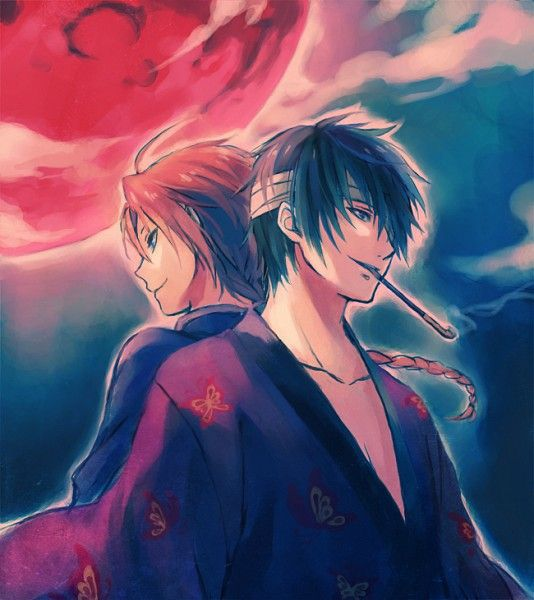 Kamui Yato and Takasugi Shinsuke