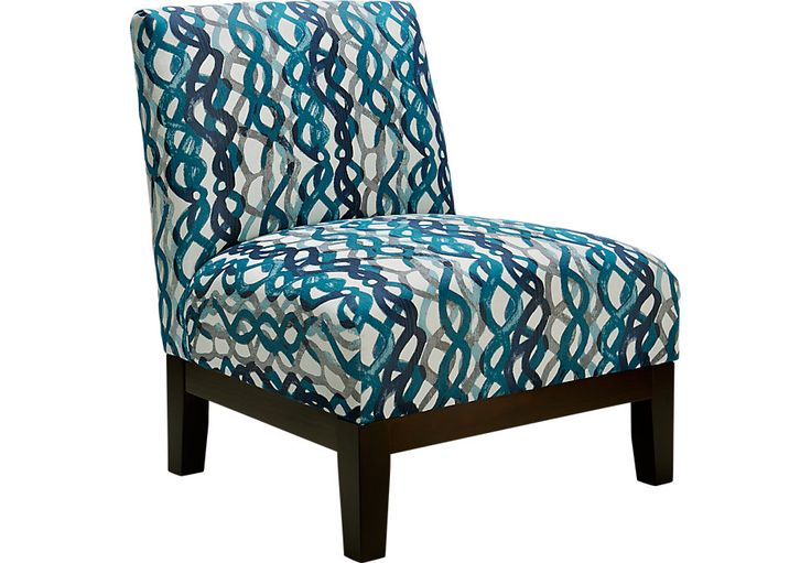 Basque Turquoise Accent Chair Accent Chairs Blue Living Room Octopus Pinterest