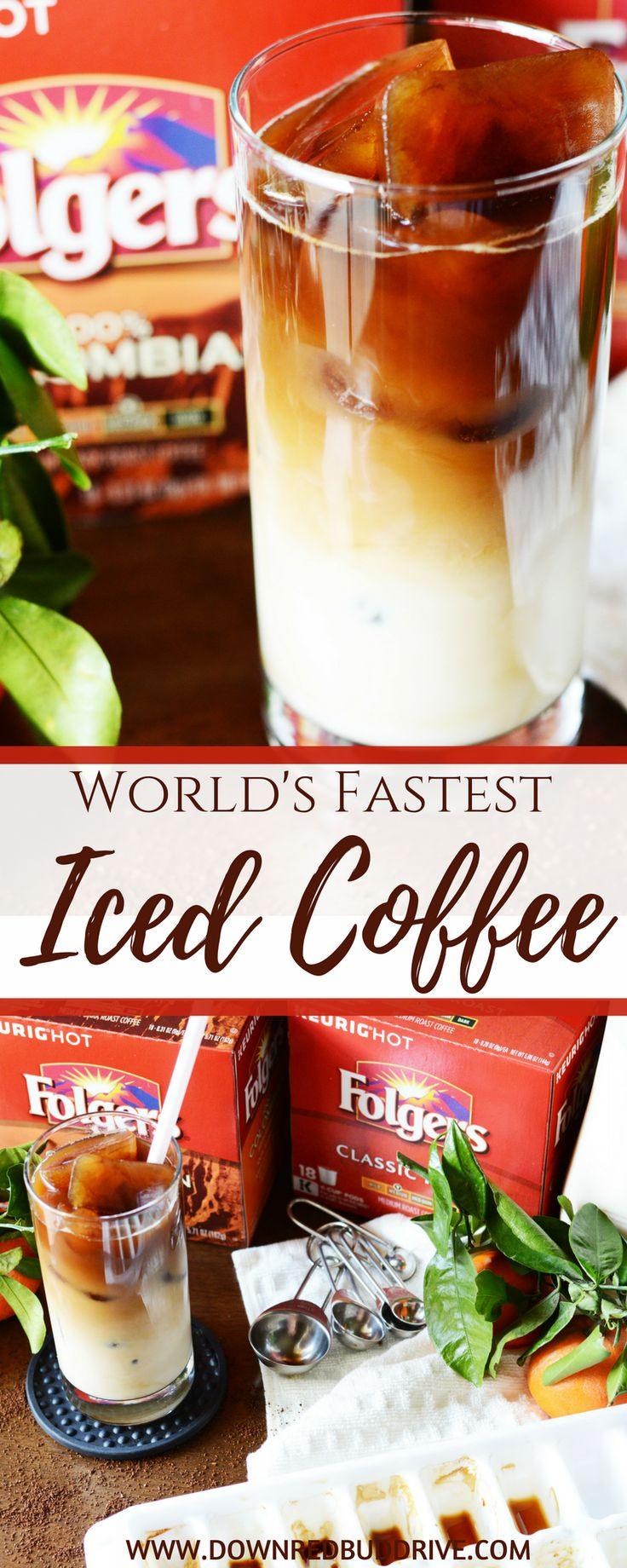 World's Fastest Iced Coffee Recipe | Iced Coffee | Iced Coffee Recipe | Easy Iced Coffee Recipe | Cold Brew | Cold Brew Coffee | Cold Coffee | Cold Coffee Recipe | Iced Latte Recipe | Down Redbud Drive #icedcoffee #ad #fromwhereisip #AlwaysTheBestPart via @DownRedbudDrive