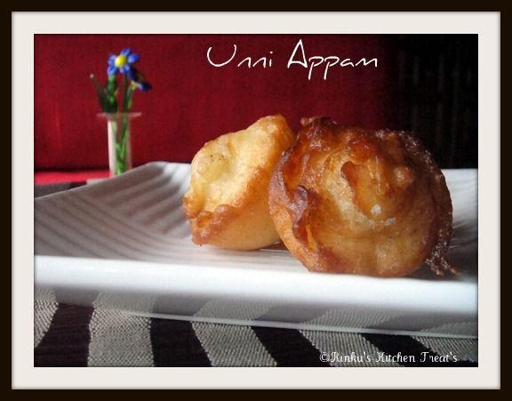 Rinku's Kitchen Treats: Unni Appam / Kuzhiappam/ Sweet Rice Fritters