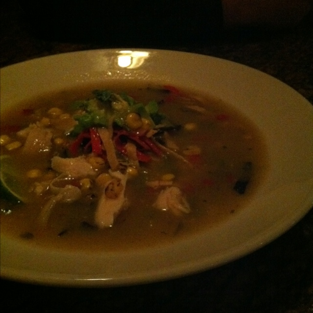 Tortilla soup! My love!