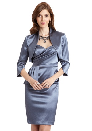 ADRIANNA PAPELL Two Piece Satin Dress Suit $119.99