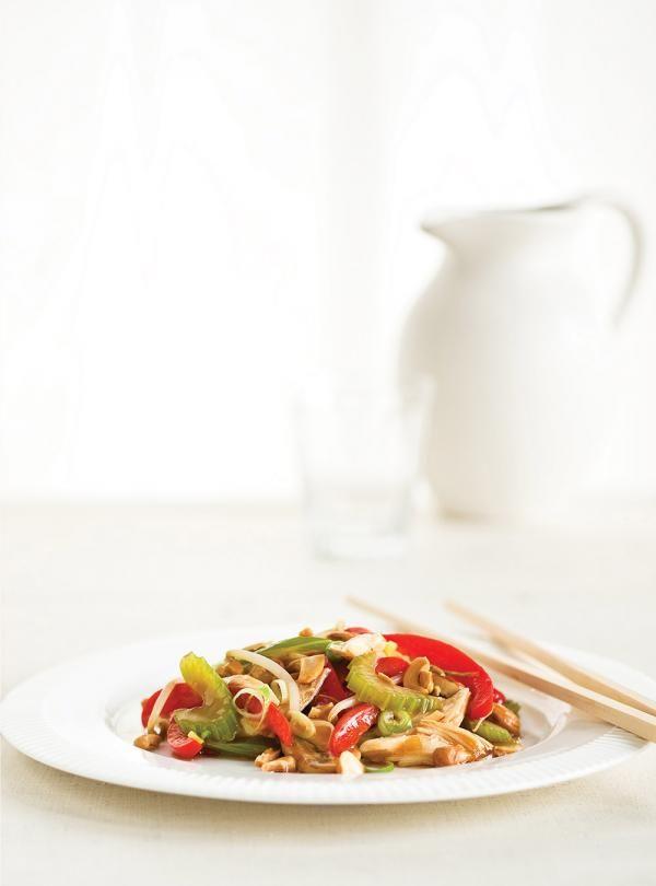 Recette de Ricardo: Chop suey au poulet
