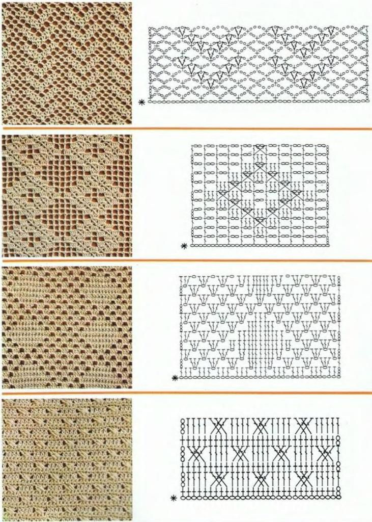 A whole site of beautiful, vintage, filet crochet patterns. Perfect for…