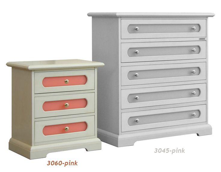 Comodino camera da letto 3 cassetti - ArteFerretto http://www.styledesign.it/prodotto/comodino-camera-bambini-3-cassetti/