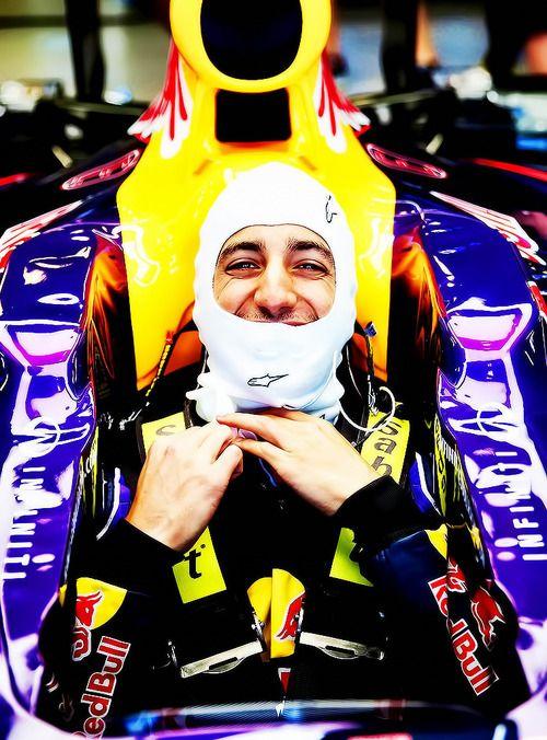 Daniel Ricciardo. I don't think it's even possible to dislike this guy! :)