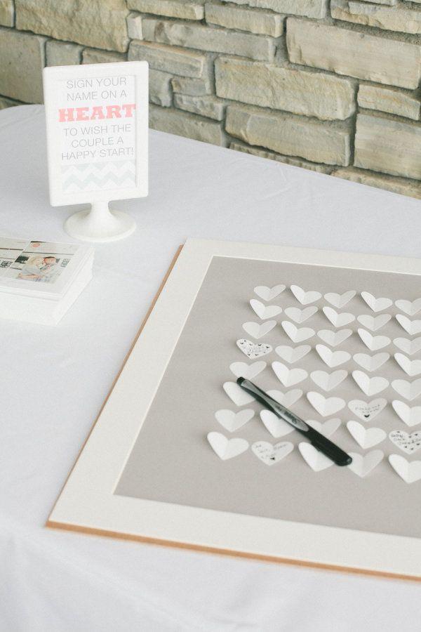 Alternativas creativas al libro de firmas