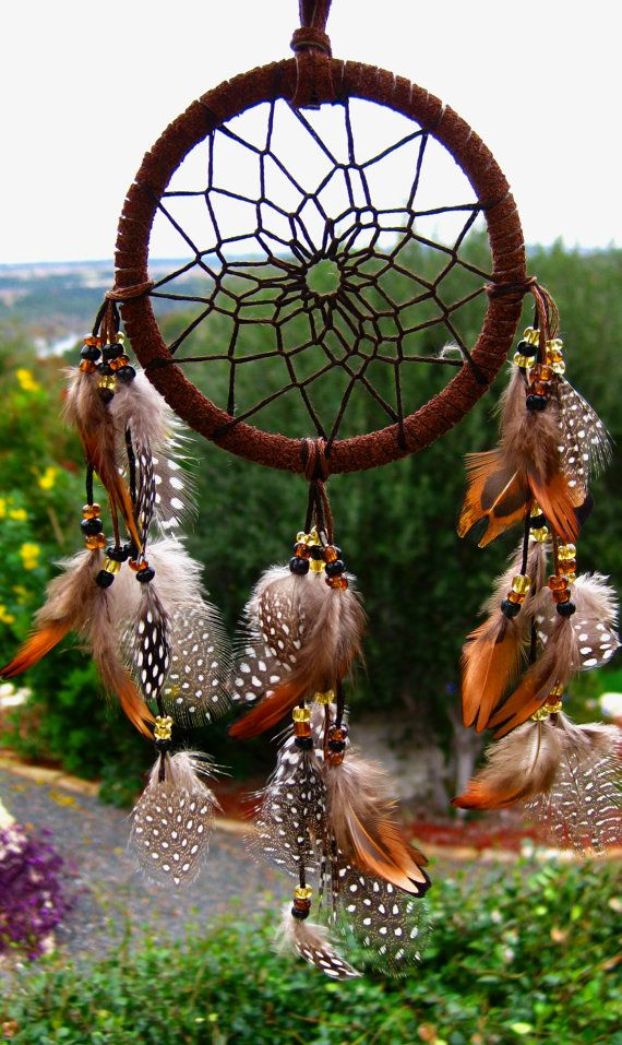 Mini Brown Dreamcatcher on Etsy, Sold http://www.griphop.com/