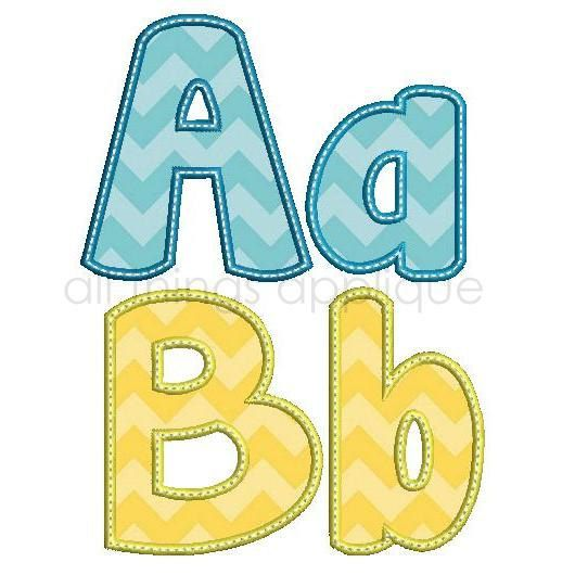 Hey, I found this really awesome Etsy listing at http://www.etsy.com/listing/161106821/happy-applique-alphabet-26-letters-upper