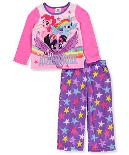 63c78af83 Amazon.com My Little Pony Girls Pajama 2 pc Set