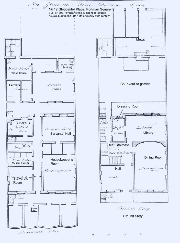 17 best georgian houses images on pinterest georgian for Regency house plans