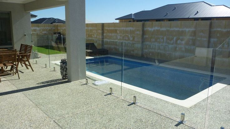 59 Best Glass Pool Fencing Images On Pinterest Glass