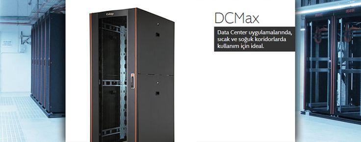 DCMax #Datacenter #Sunucu Kabinetleri özellikle yoğun datacenter uygulamalarında kullanılan #sıcakkoridor - #soğukkoridor yapıları için tasarlanmıştır.