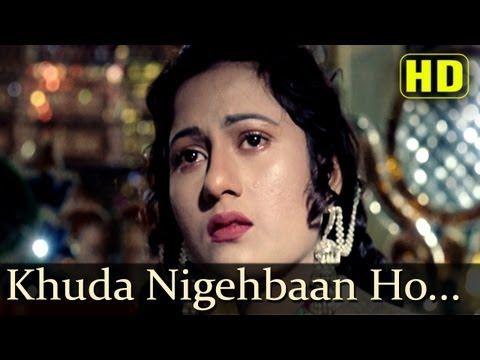 Khuda Nigehbaan Ho Tumhara - Madhubala - Dilip Kumar - Mughal-E-Azam - Bollywood Sad Love Song - YouTube