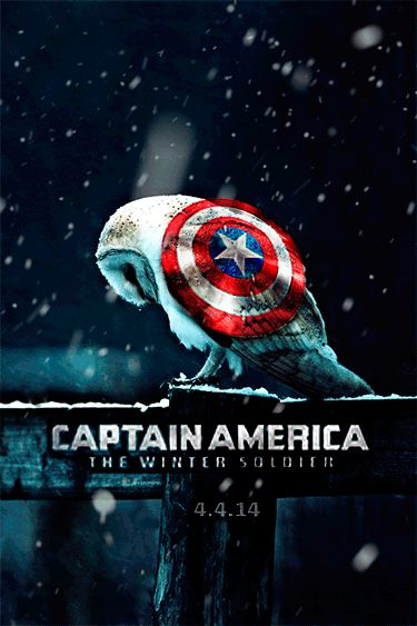 Moving Captain America: The Winter Soldier Poster ...