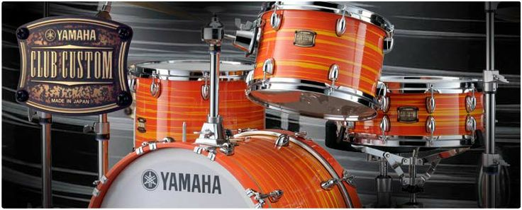 Yamaha Drums. Some of the best in the business