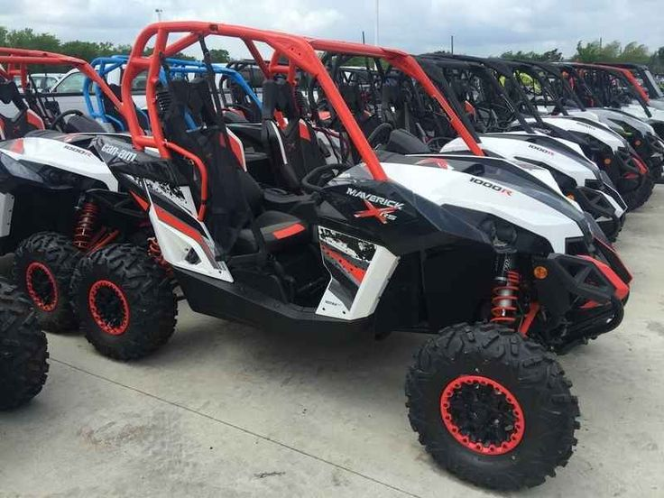 New 2015 Can-Am Maverick X rs DPS 1000R White, Black & C ATVs For Sale in Texas. 2015 Can-Am Maverick X rs DPS 1000R White, Black & Can-Am Red, DOES NOT INCLUDE DEALER ADDED ACCESSORIES 2015 Can-Am® Maverick MAX X® rs DPS® 1000R Get a side-by-side vehicle that turns heads for how it rides, and how it looks. Featuring breakthrough power, FOX PODIUM X Performance RC2.5 HPG Piggyback shocks, 12-in aluminum beadlock wheels, and X rs package trim. Plus, the added control of Tri-Mode Dynamic Power…