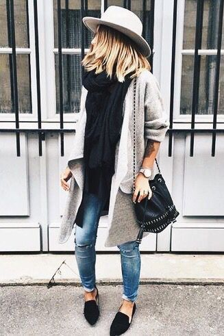 adorable fall style comfy outfit idea every girl should try this year