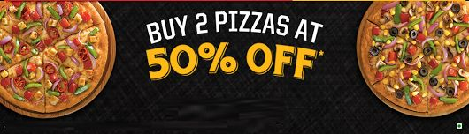 Get 2 Medium #PanPizzas at 50% Off! On pizza hut  #pizzaHut #PizzaHutOffer #PizzaHutCoupons #BestDealsonPizzas #PizzaHutcoupons #pizzahutofferstoday #pizzahutunlimitedoffer #Coupontrends