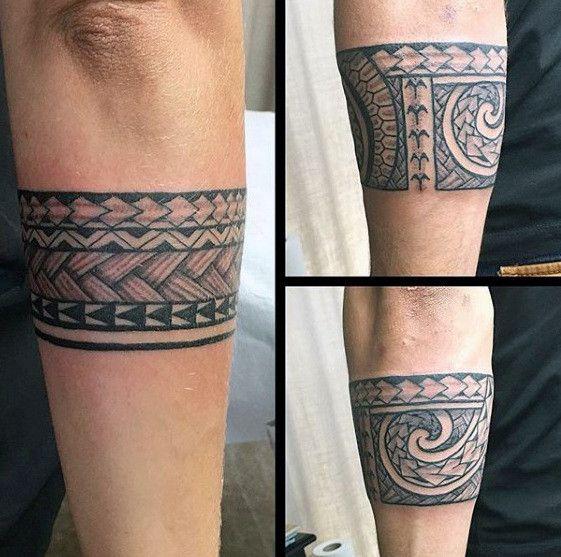 50 Tribal Armband Tattoo Designs für Männer – Male Ink Ideas   – Tattoo ideen