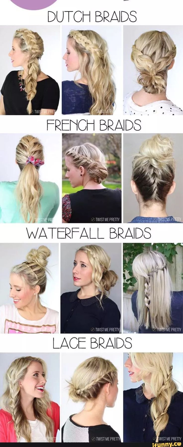best hair for gaby images on pinterest colourful hair braids