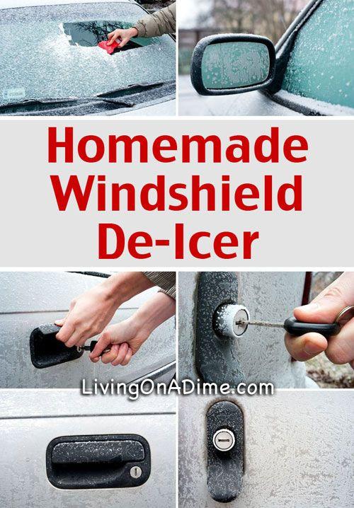 Homemade Windshield De-Icer Recipe - Just 2 Ingredients!