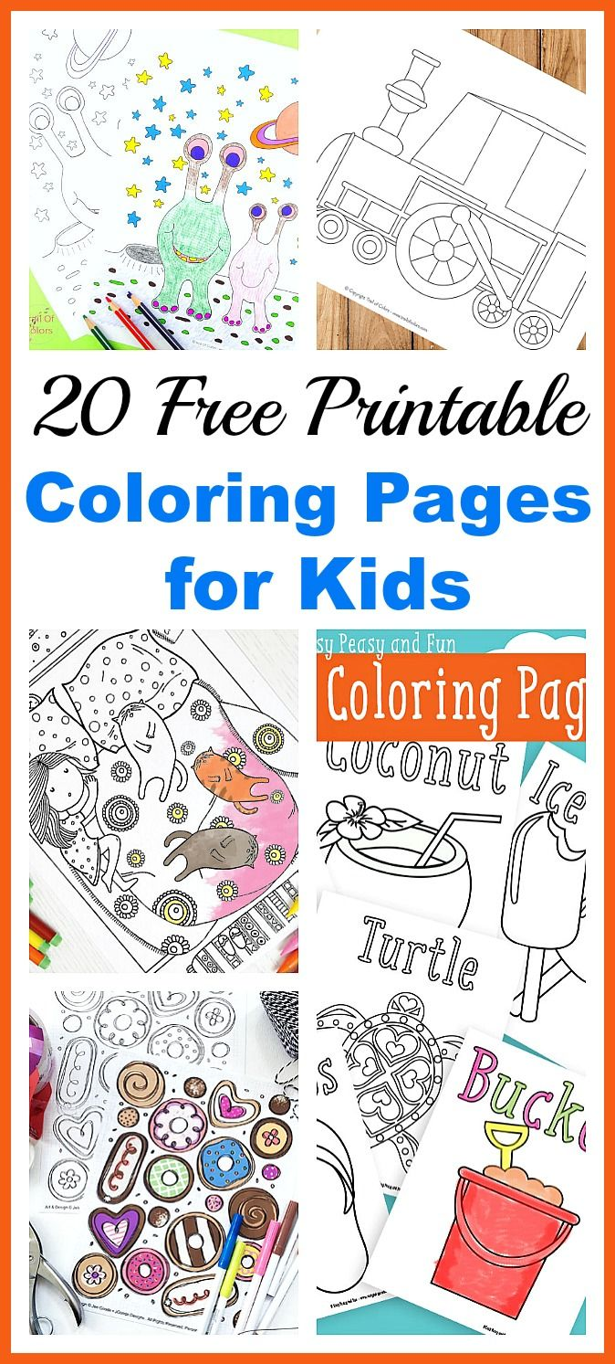 The zoology coloring book - 20 Free Printable Coloring Pages For Kids An Easy And Inexpensive Way To Keep Your
