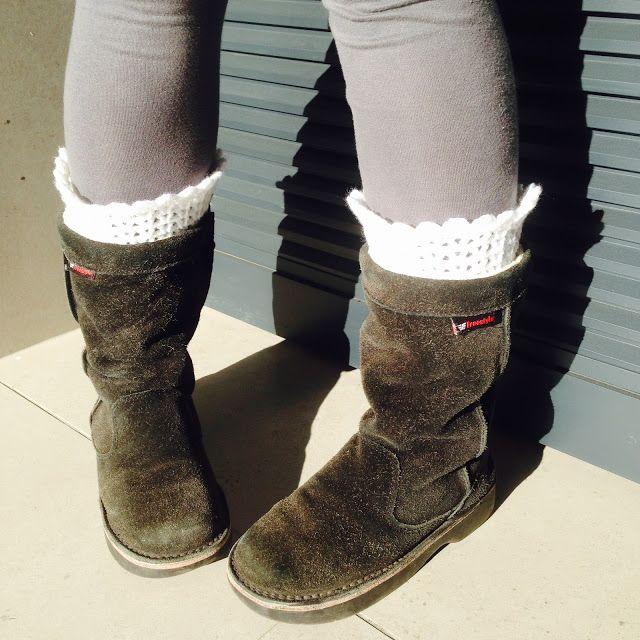 tjou-tjou: boot cuffs