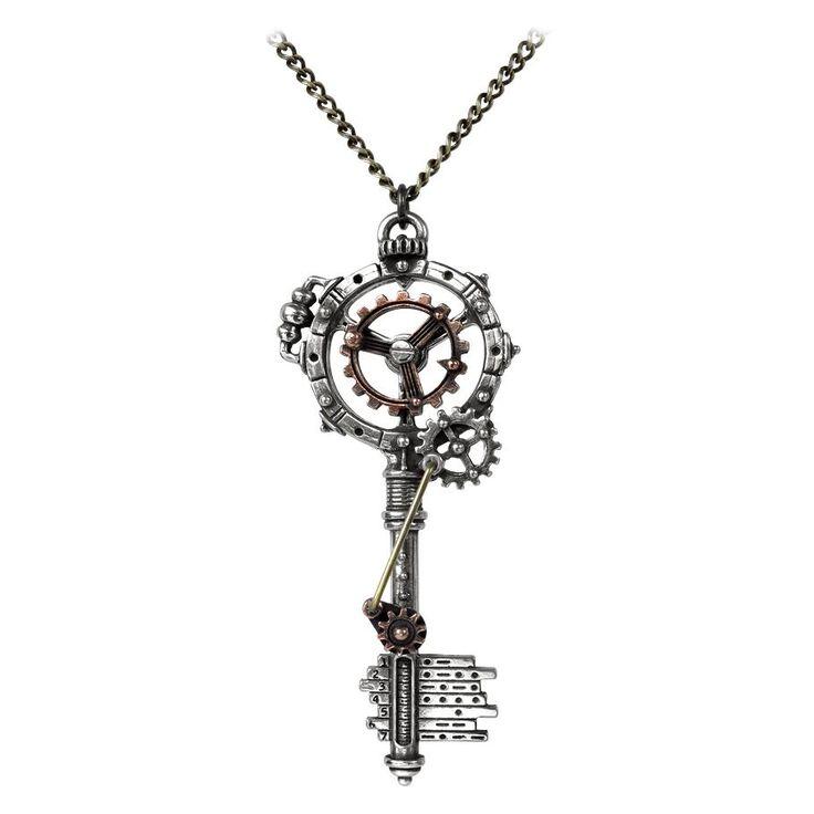 "Alchemy Gothic Halskæde ""Empire Key"" • EMP"