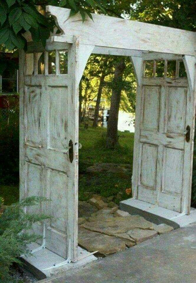 Beautiful Door Arbor