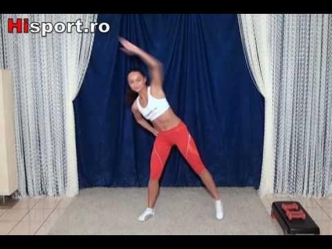 exercitii cardio picioare - YouTube