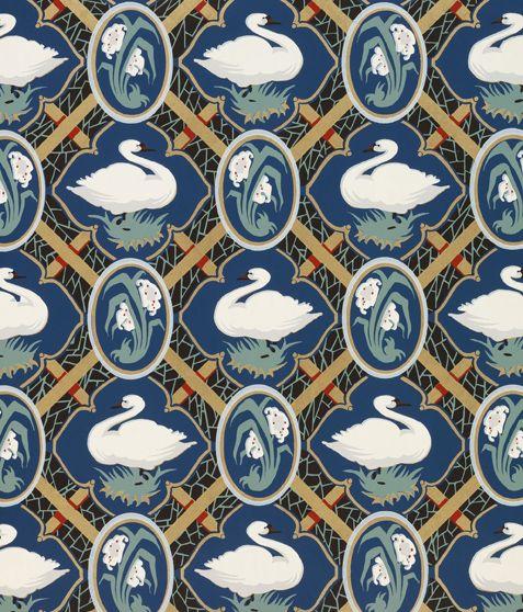 Swan wallpaper 1972