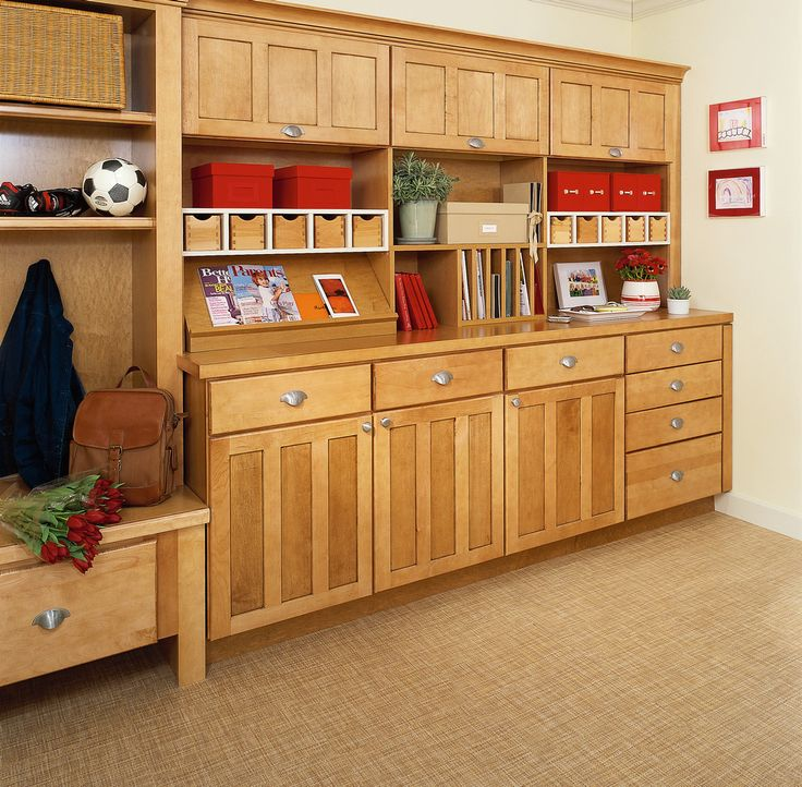Seattle Kitchen And Mudroom Remodel: 8 Best The KraftMaid Office Images On Pinterest