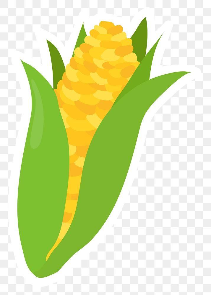 Png Pastel Corn Food Sticker Clipart Free Image By Rawpixel Com Aum Clip Art Cartoon Clip Art Free Png