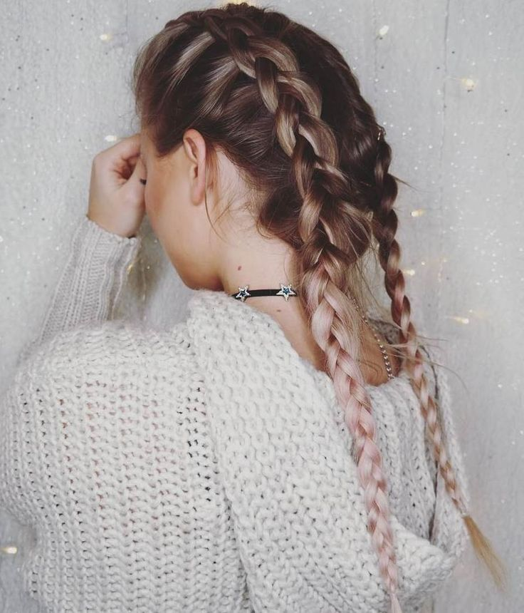 10 lazy winter hairstyles - #faule # hairstyles #winter