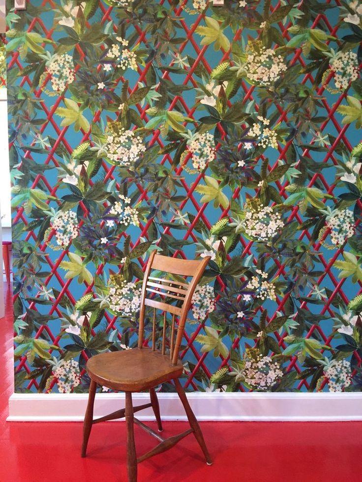 christian lacroix for designers guild canopy wallpaper
