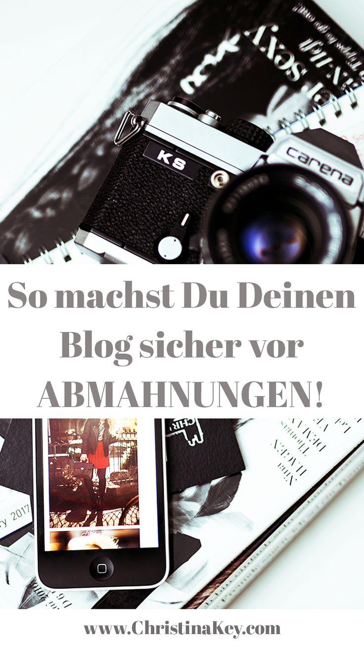 Blogger Tipps: So machst Du Deinen Blog sicher vor Abmahnungen! II Entdecke jetzt noch weitere, hilfreiche Artikel auf CHRISTINA KEY - dem Fashion-, Fotografie- und Lifestyle Blog aus Berlin
