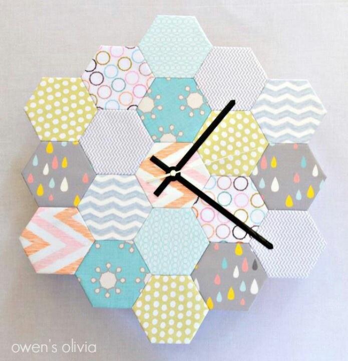 Hexie clock!! I'm DYING!!!!!