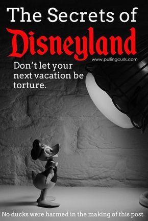 Disneyland Secrets | tips | free | food | hacks | scary | rides | parades | mickey | princess