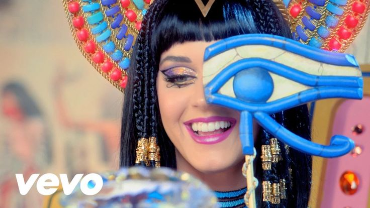 Katy Perry - Dark Horse (Official) ft. Juicy J Something I've noticed is that she says Aphrodite....but she's in Egypt -.-'